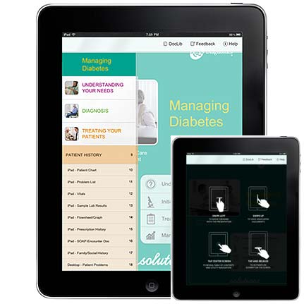 Quest Diagnostics: iPad based sales app